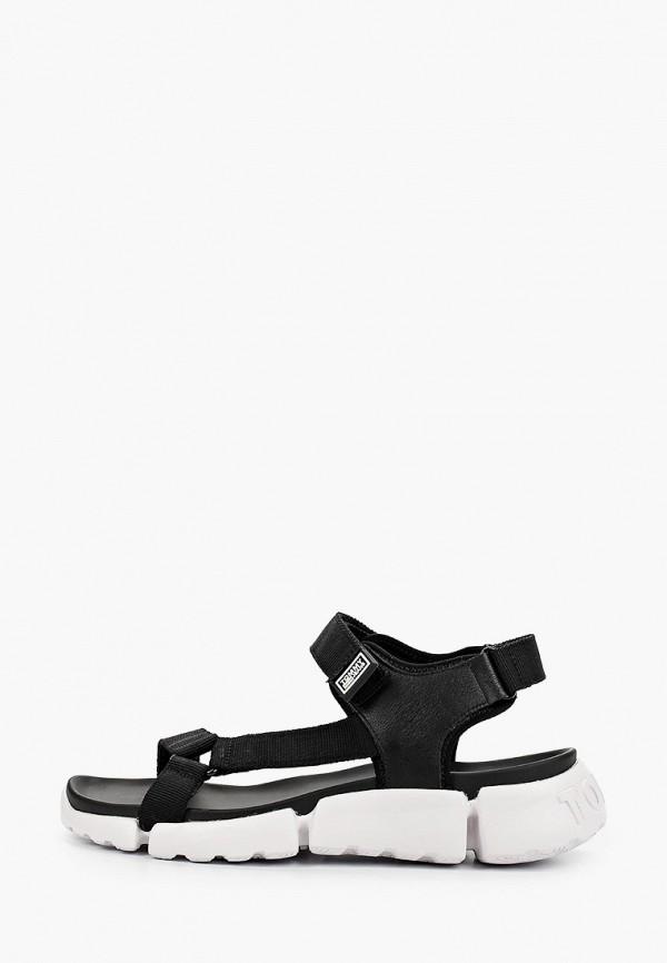 мужские сандалии tommy jeans, черные
