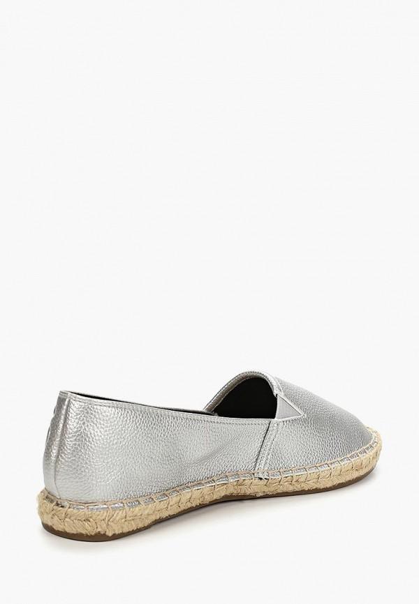 Фото 3 - Эспадрильи Tommy Jeans серебрянного цвета