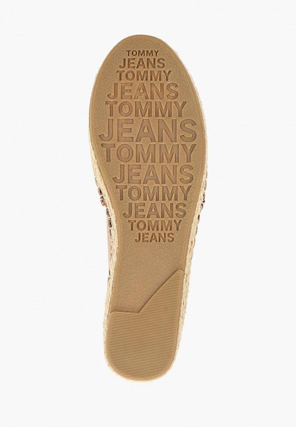 Фото 5 - Эспадрильи Tommy Jeans золотого цвета