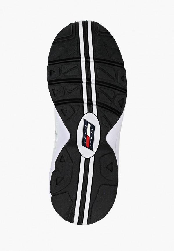 Фото 5 - женские кроссовки Tommy Jeans белого цвета