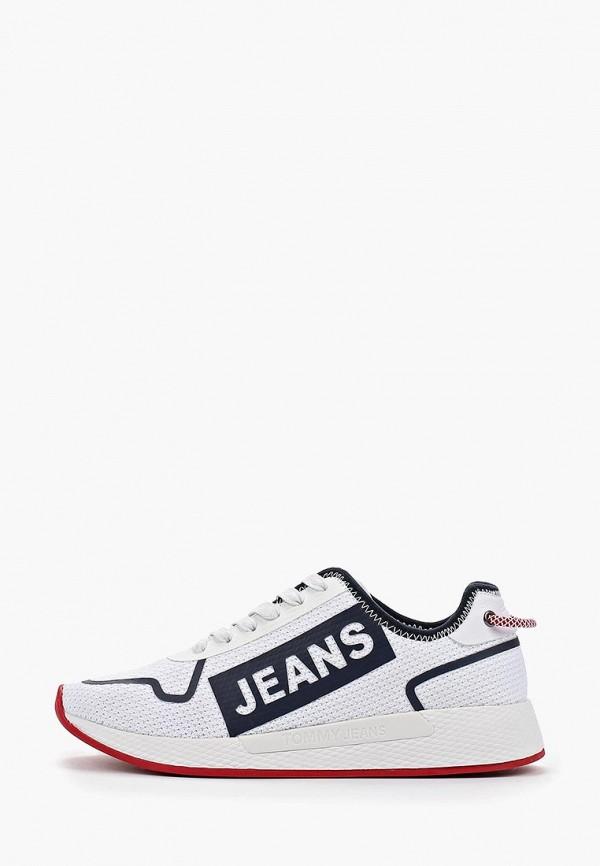 женские кроссовки tommy jeans, белые