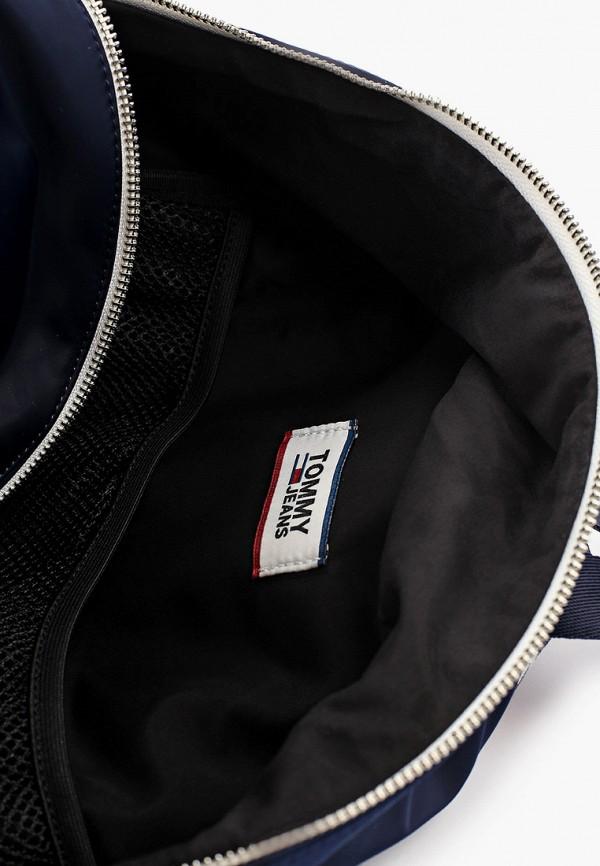 Фото 3 - мужской рюкзак Tommy Jeans синего цвета