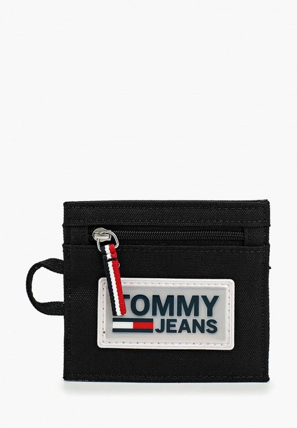 мужской кошелёк tommy jeans, красный