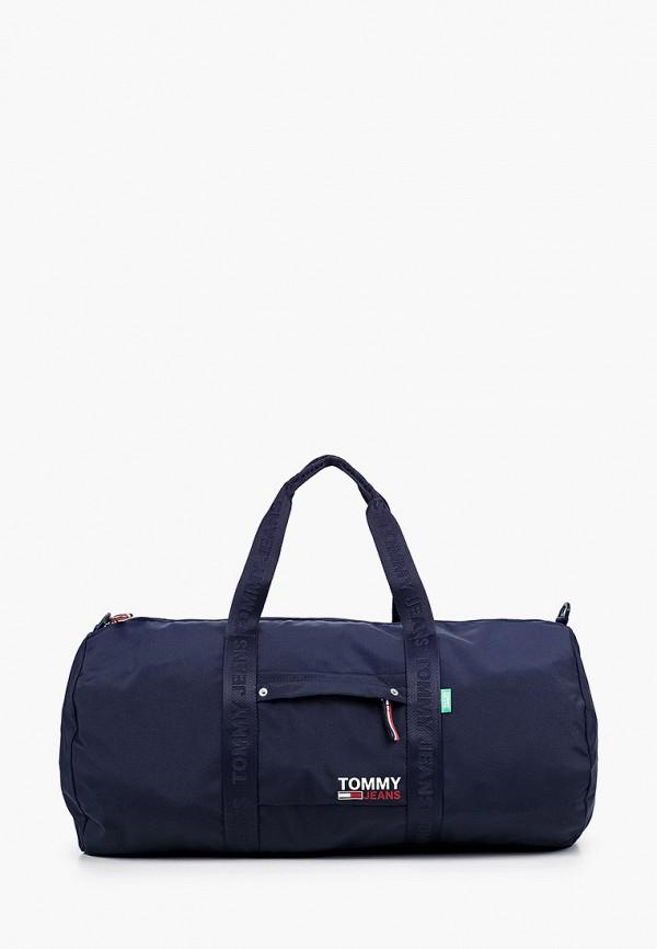 мужская сумка tommy jeans, синяя