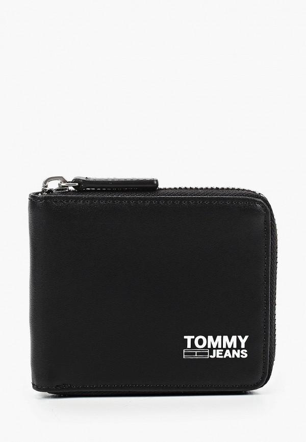 мужской кошелёк tommy jeans, черный