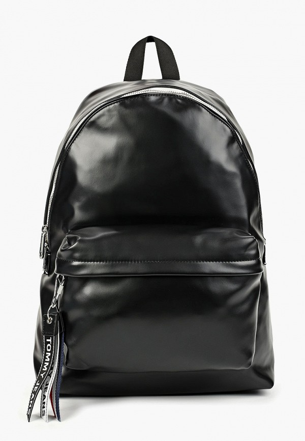 женский рюкзак tommy jeans, черный