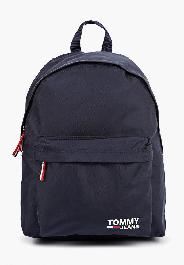 женский рюкзак tommy jeans, синий