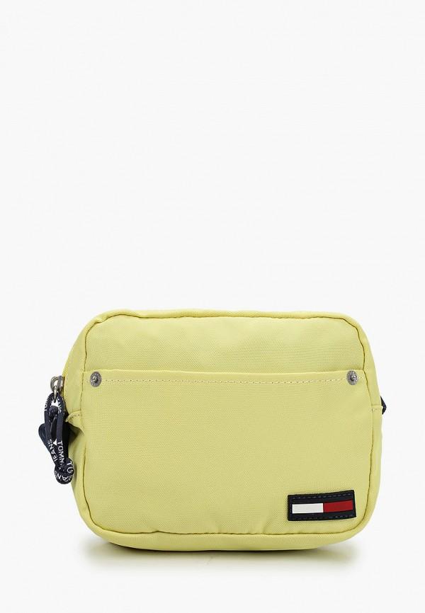 женская сумка tommy jeans, желтая
