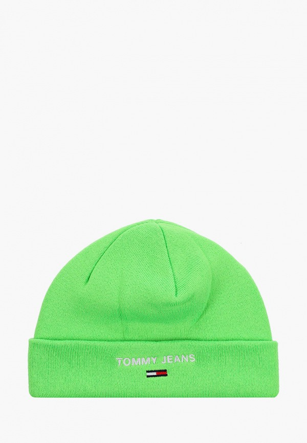 мужская шапка tommy jeans, зеленая
