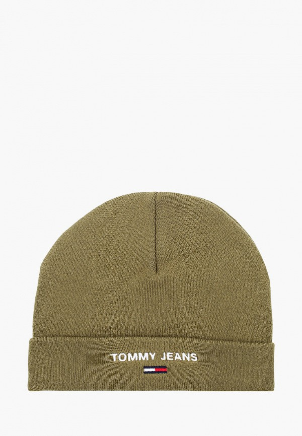 мужская шапка tommy jeans, хаки