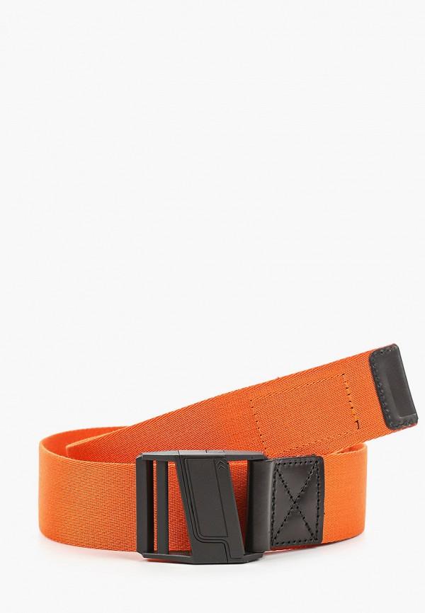 мужской ремень tommy jeans, оранжевый