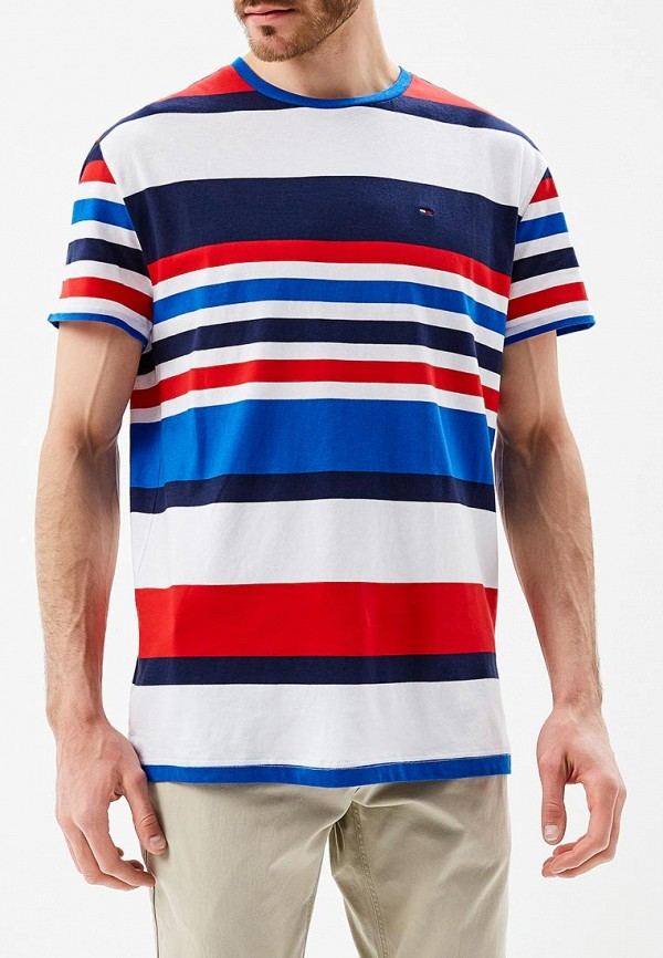 Футболка Tommy Jeans Tommy Jeans TO052EMAIHN4 свитшот tommy jeans tommy jeans to013emyzs95