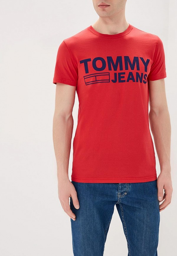 Футболка Tommy Jeans Tommy Jeans TO052EMAIHT7 футболка tommy jeans tommy jeans to052emyzw53
