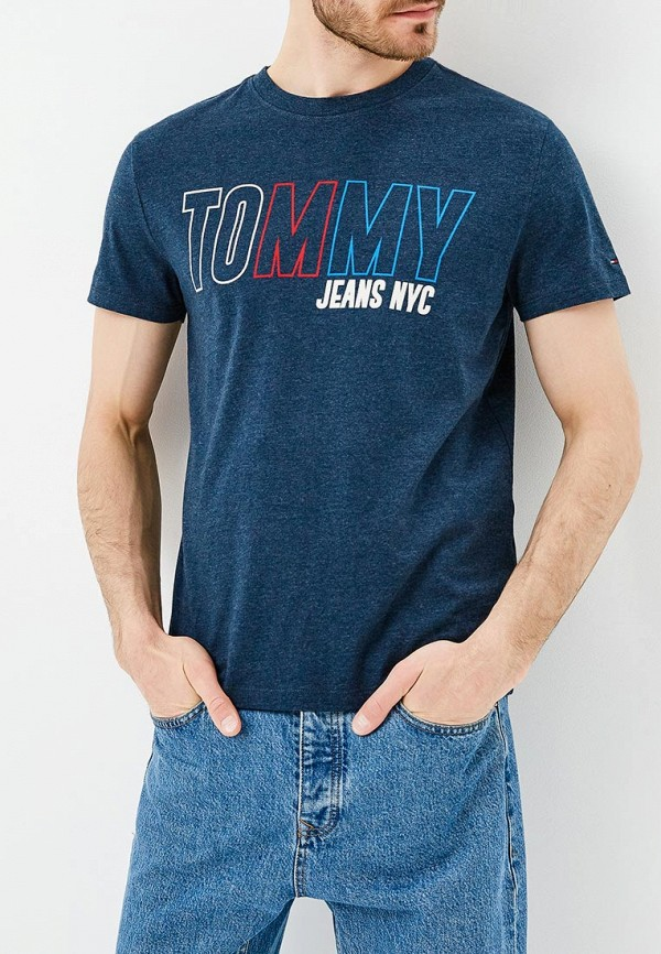 Футболка Tommy Jeans Tommy Jeans TO052EMAIHT9 футболка tommy jeans tommy jeans to052emaiig0