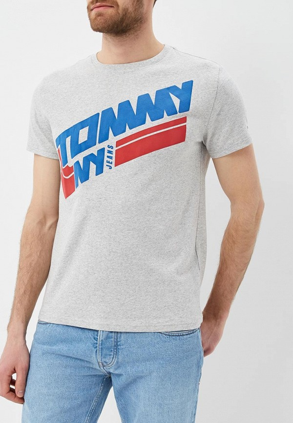 Футболка Tommy Jeans Tommy Jeans TO052EMAIIE4 свитшот tommy jeans tommy jeans to013emyzs95