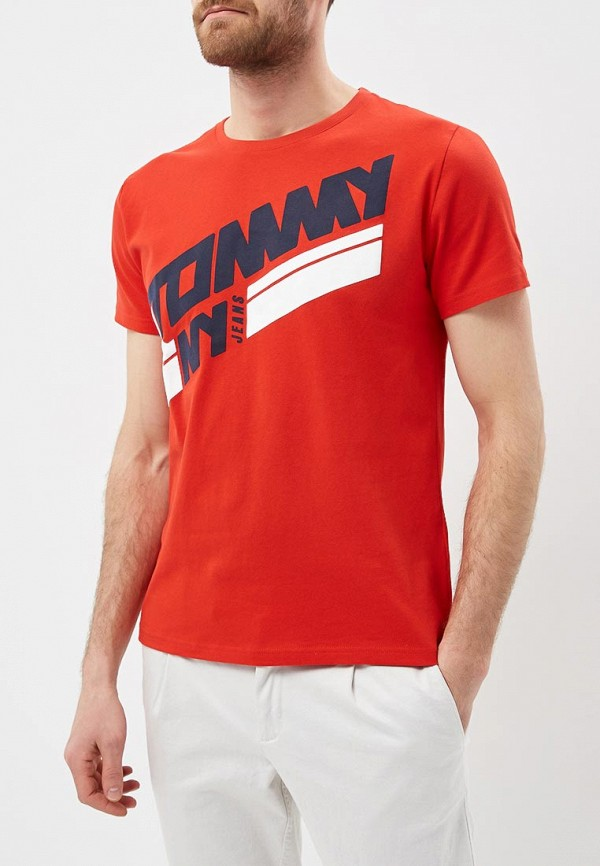 Футболка Tommy Jeans Tommy Jeans TO052EMAIIE5 футболка gloria jeans
