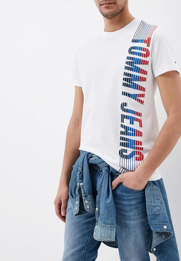 Футболка Tommy Jeans Tommy Jeans TO052EMAIIF0 футболка tommy jeans