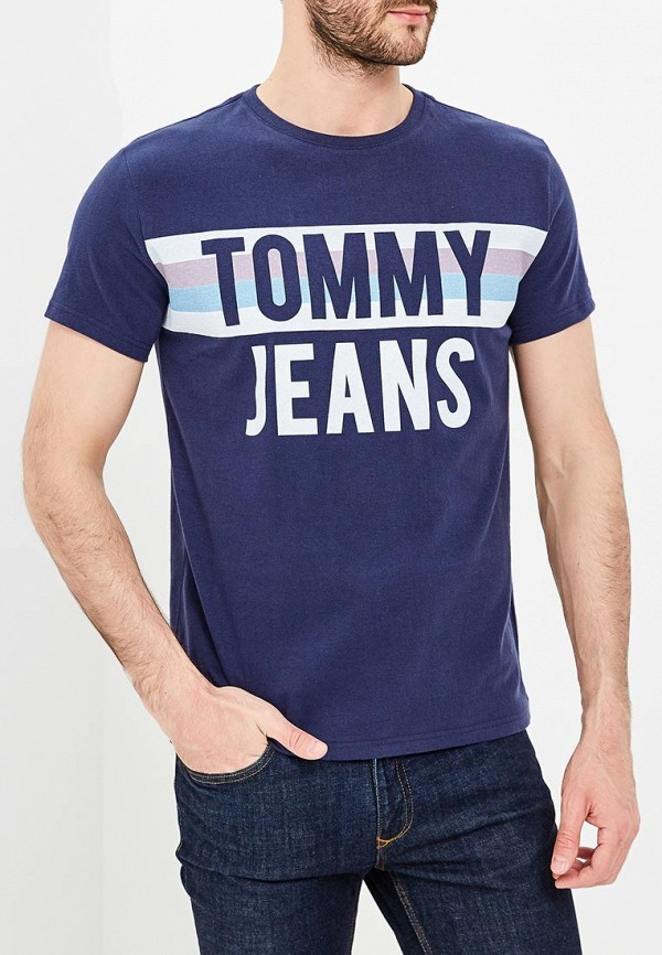 Футболка Tommy Jeans Tommy Jeans TO052EMAIIF6 new summer casual cotton men short jeans fashion brand men s bermuda boardshorts jeans shorts mens ripped plus size 28 36