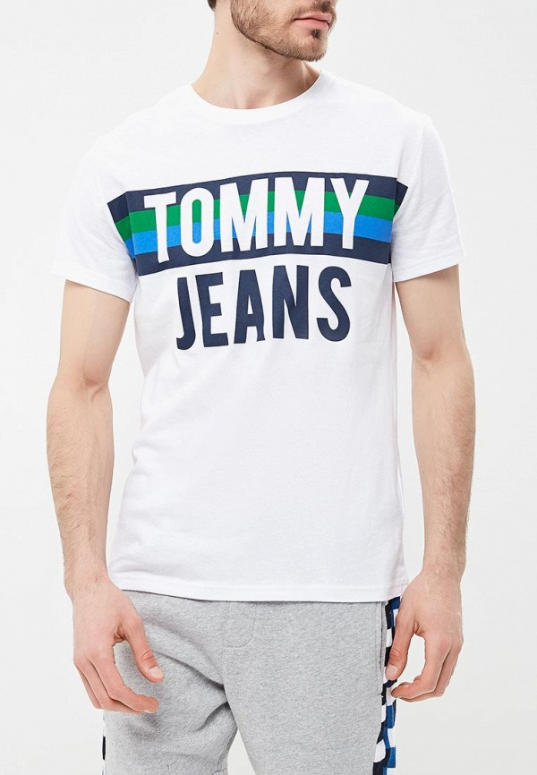 Футболка Tommy Jeans Tommy Jeans TO052EMAIIF8 футболка tommy jeans tommy jeans to052ewbwgj0