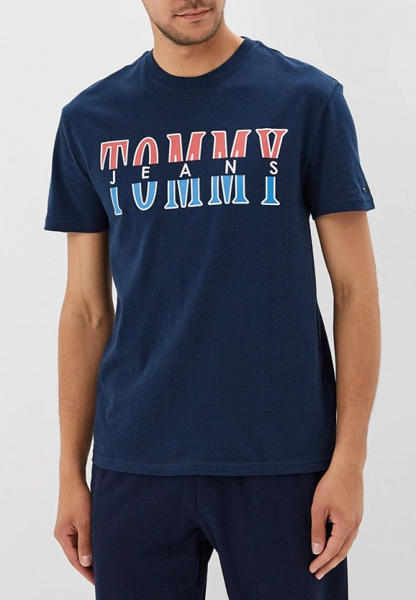 Футболка Tommy Jeans Tommy Jeans TO052EMBHRL2 футболка tommy jeans tommy jeans to052ewbwgj0