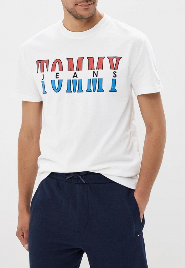 Футболка Tommy Jeans Tommy Jeans TO052EMBHRL3 футболка gloria jeans