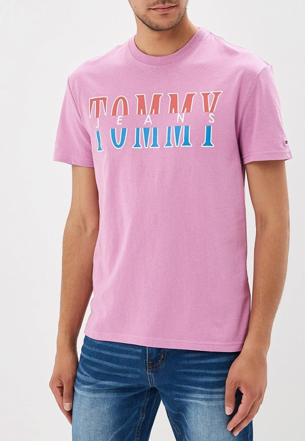 Футболка Tommy Jeans Tommy Jeans TO052EMBHRL4 футболка tommy jeans tommy jeans to052emaiig0
