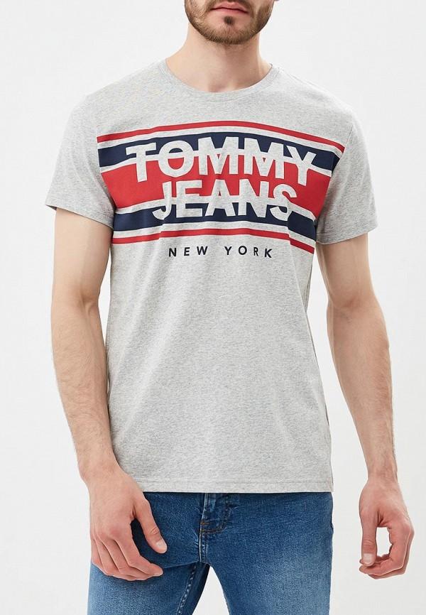 Футболка Tommy Jeans Tommy Jeans TO052EMBHRL5 футболка tommy jeans tommy jeans to052ewbida4