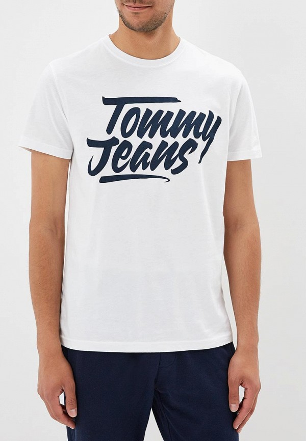 Футболка Tommy Jeans Tommy Jeans TO052EMBHRL8 футболка tommy jeans tommy jeans to052emaiig0