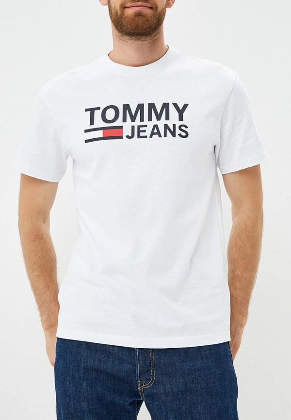 Футболка Tommy Jeans Tommy Jeans TO052EMBHRM4 футболка gloria jeans