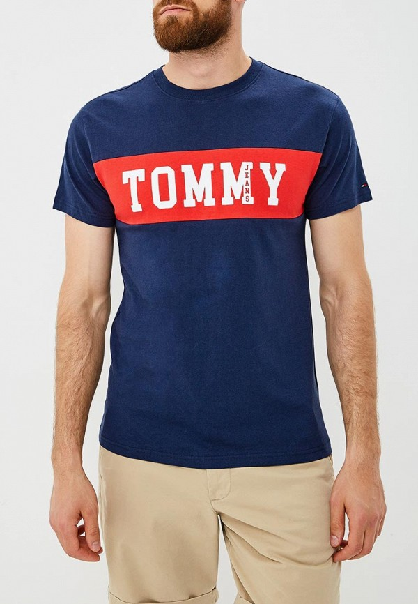 Футболка Tommy Jeans Tommy Jeans TO052EMBHRM6 свитшот tommy jeans tommy jeans to013emyzs95