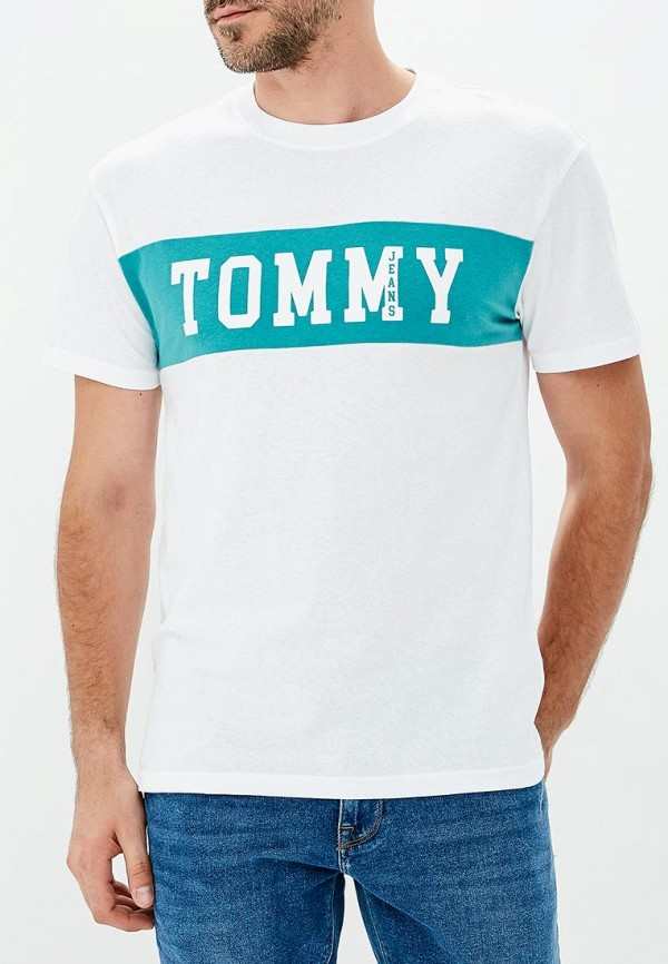 Футболка Tommy Jeans Tommy Jeans TO052EMBHRM8 футболка tommy jeans