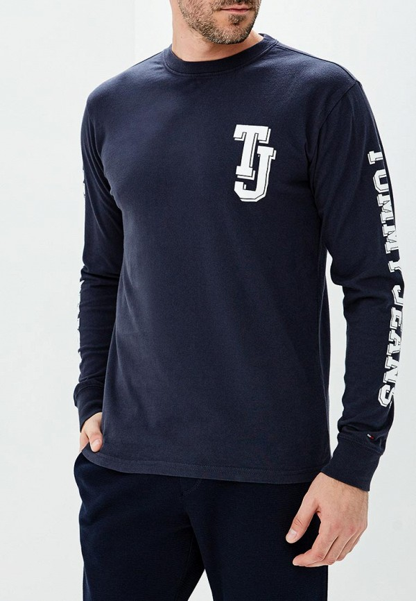 Лонгслив Tommy Jeans Tommy Jeans TO052EMBHRM9 свитшот tommy jeans tommy jeans to052emyzw29