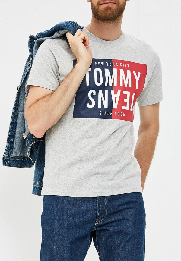 Футболка Tommy Jeans Tommy Jeans TO052EMBHRN1 футболка tommy jeans tommy jeans to052ewbide5