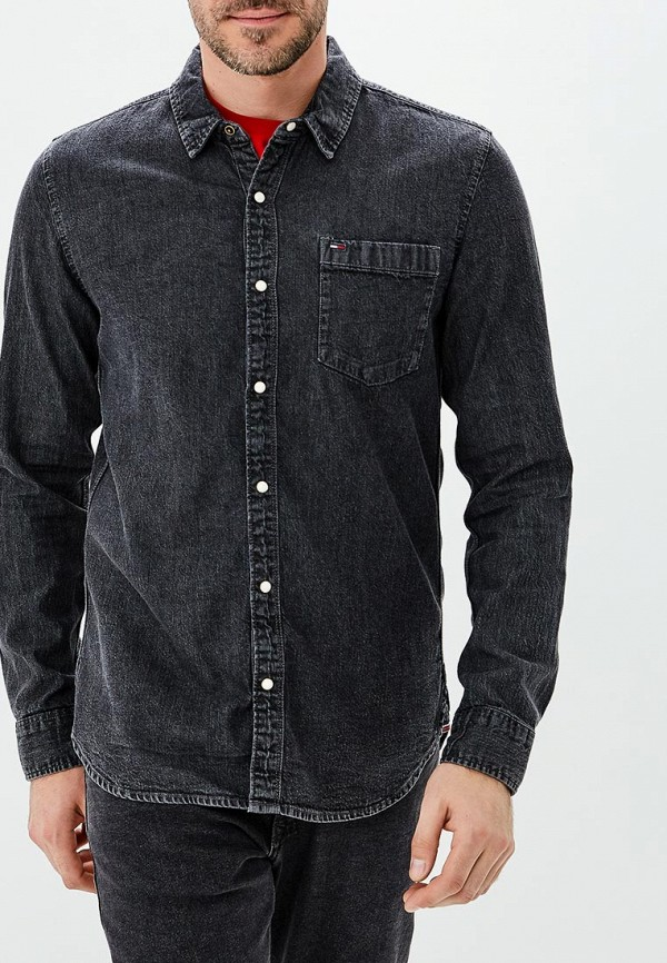 Фото - Рубашка джинсовая Tommy Jeans Tommy Jeans TO052EMBHRO8 рубашка джинсовая tommy jeans tommy jeans to013emyzs77