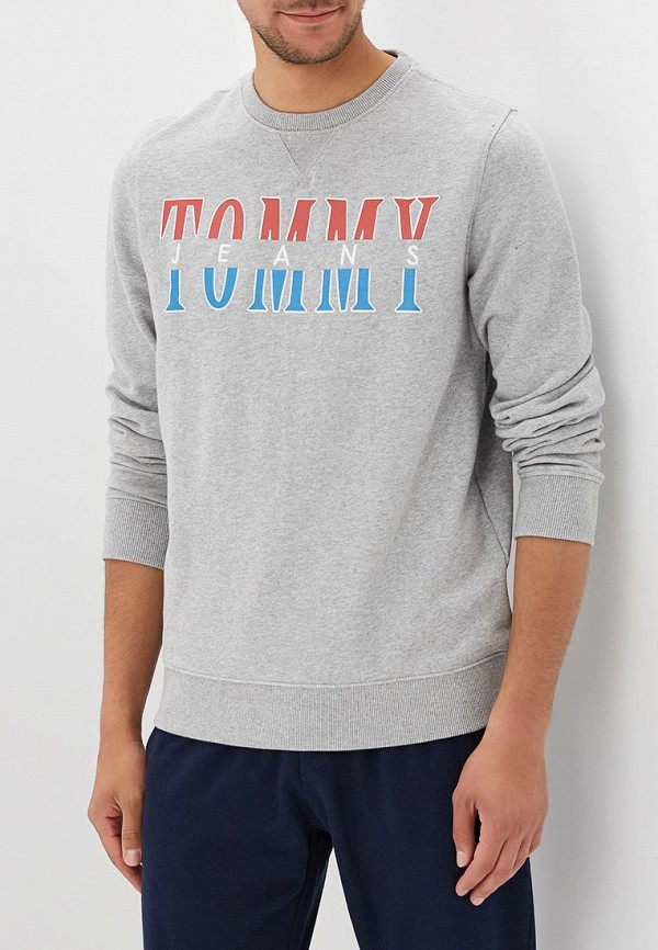 Свитшот Tommy Jeans Tommy Jeans TO052EMBHRT9 свитшот tommy jeans tommy jeans to013emyzs95