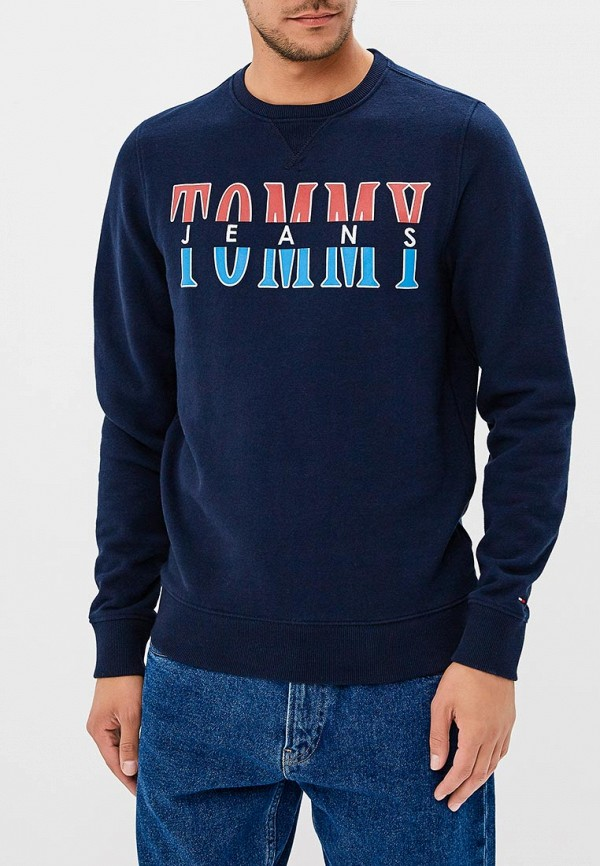 Свитшот Tommy Jeans Tommy Jeans TO052EMBHRU0 свитшот tommy jeans tommy jeans to013emyzs95
