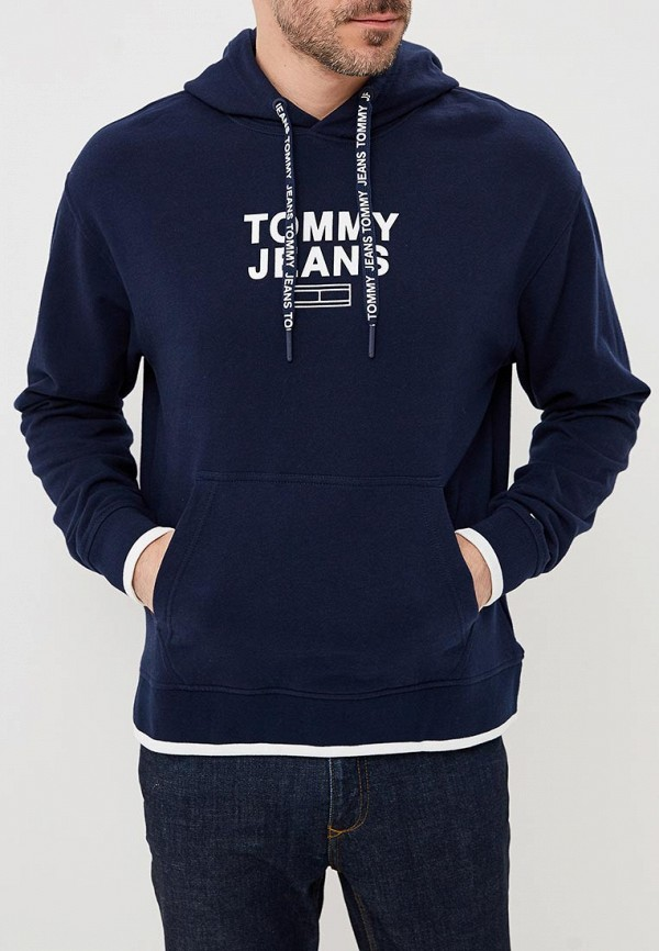 Худи Tommy Jeans Tommy Jeans TO052EMBHRU2 шорты джинсовые tommy jeans tommy jeans to052emaihs7