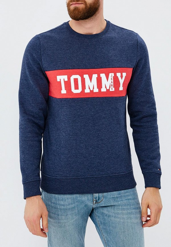 Свитшот Tommy Jeans Tommy Jeans TO052EMBHRV4 свитшот tommy jeans tommy jeans to013emyzs95