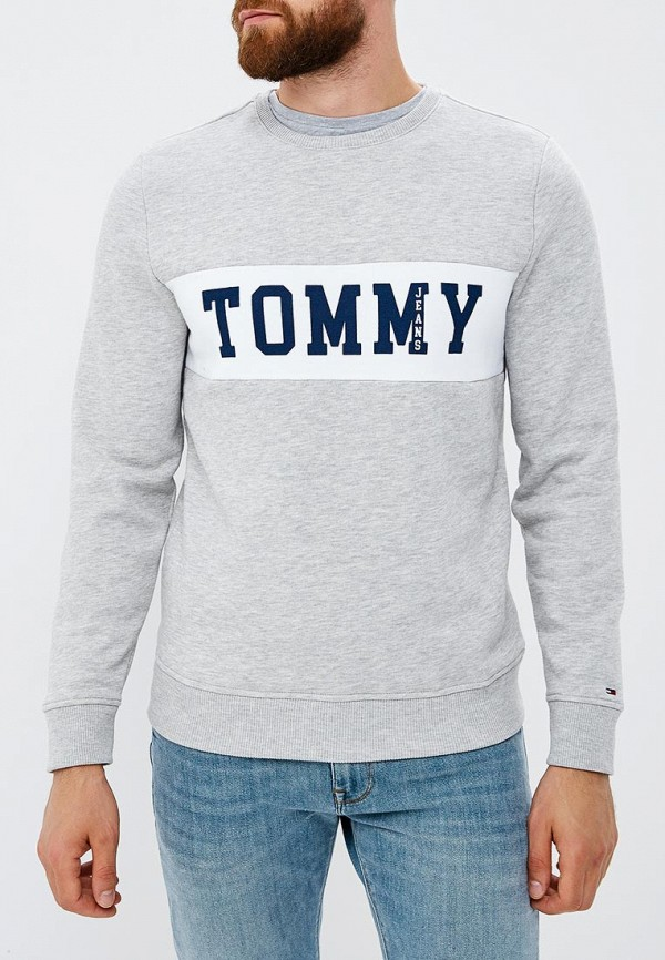 Свитшот Tommy Jeans Tommy Jeans TO052EMBHRV5 свитшот tommy jeans tommy jeans to052embwav4