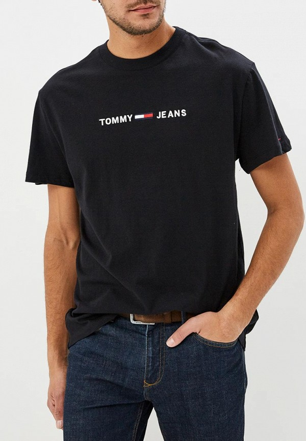 Футболка Tommy Jeans Tommy Jeans TO052EMBWAS8 футболка tommy jeans tommy jeans to052emaiht8