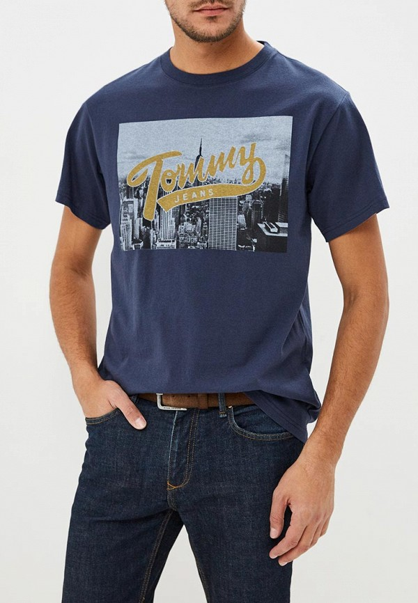 Футболка Tommy Jeans Tommy Jeans TO052EMBWAT6 футболка tommy jeans