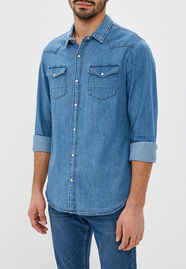 Фото - Рубашка джинсовая Tommy Jeans Tommy Jeans TO052EMBWAT9 рубашка джинсовая tommy jeans tommy jeans to013emyzs77