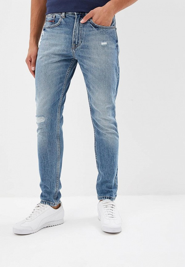 Джинсы Tommy Jeans Tommy Jeans TO052EMBWES1 maomaoleyenda hole jeans men 2017 new fashion personality locomotive men jeans cotton slim fold denim jeans mens brand