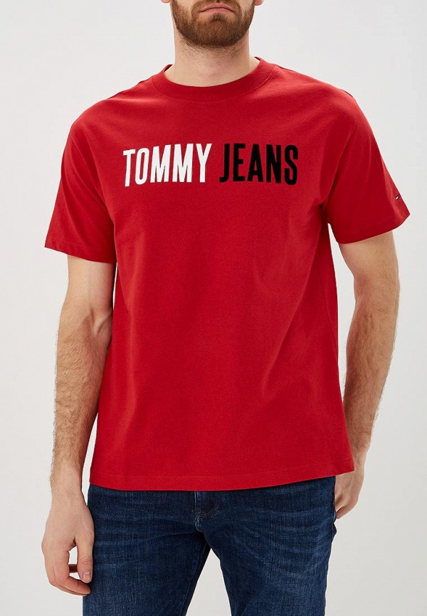 Футболка Tommy Jeans Tommy Jeans TO052EMDEBI0 футболка tommy jeans tommy jeans to052ewbide5