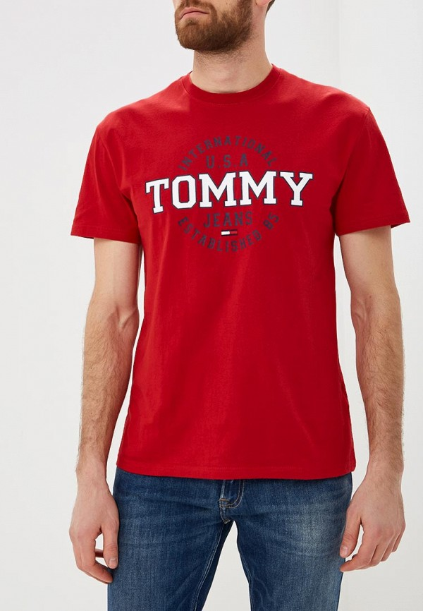 Футболка Tommy Jeans Tommy Jeans TO052EMDEBI9 футболка tommy jeans tommy jeans to052emaiht8