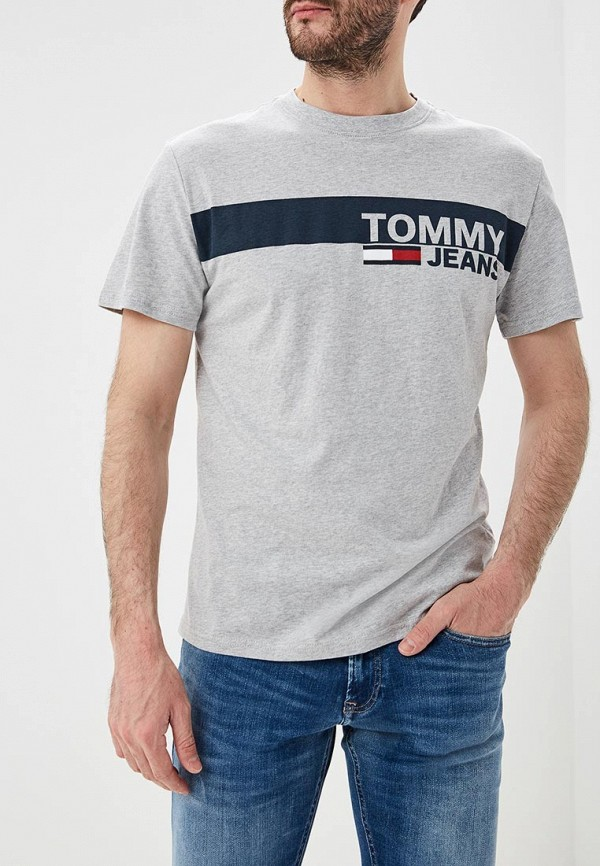 Футболка Tommy Jeans Tommy Jeans TO052EMEBRQ6 футболка tommy jeans tommy jeans to052emaiht8