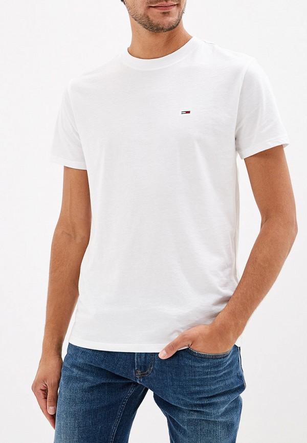 купить Футболка Tommy Jeans Tommy Jeans TO052EMFEMU0 по цене 3490 рублей