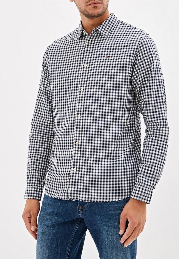 Купить мужскую рубашку Tommy Jeans разноцветного цвета