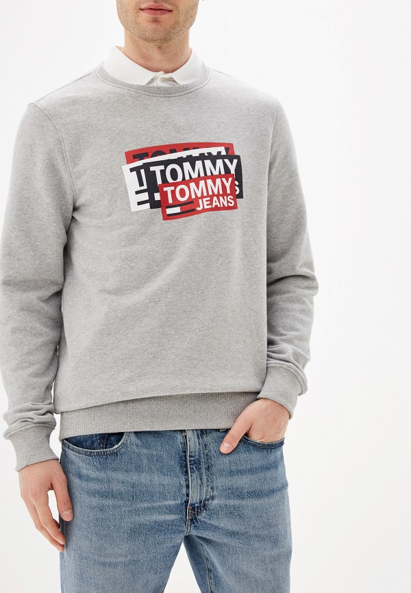 Свитшот Tommy Jeans Tommy Jeans TO052EMFEMV4 свитшот tommy jeans tommy jeans to052embwao8