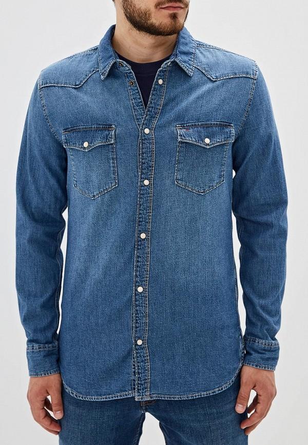 Рубашка джинсовая Tommy Jeans Tommy Jeans TO052EMFEMW4 tommy jeans джинсовая рубашка